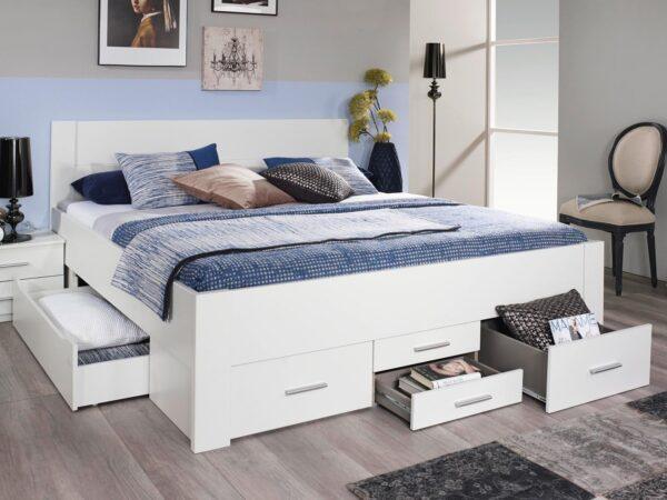Lit ISAURA 160x200 blanc