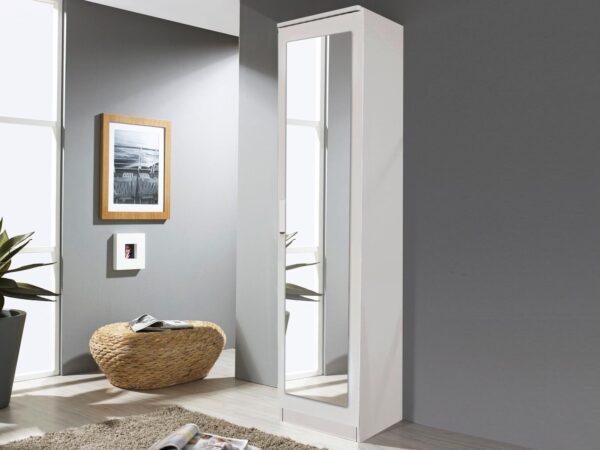 Armoire RIGA 1 porte blanc