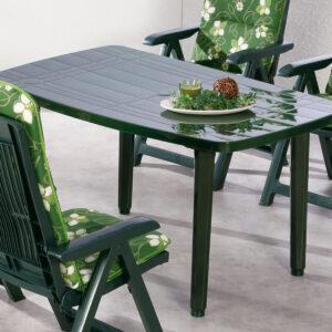 Table de jardin FIESTA vert