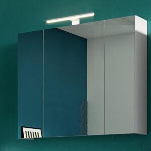 Armoire de toilette SALINO 3 portes blanc