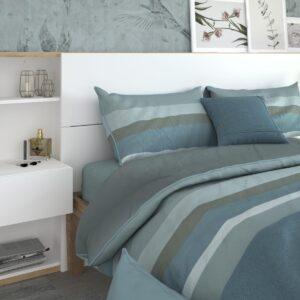 Tête de lit SAMMY avec tables de chevet 160x200 cm chêne jackson/blanc