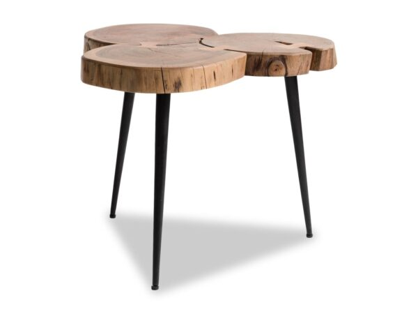 Table basse gigogne JIMO bois recyclé
