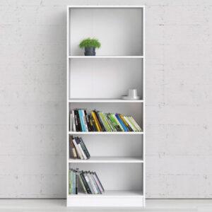 Bibliothèque BASO 5 niches blanc