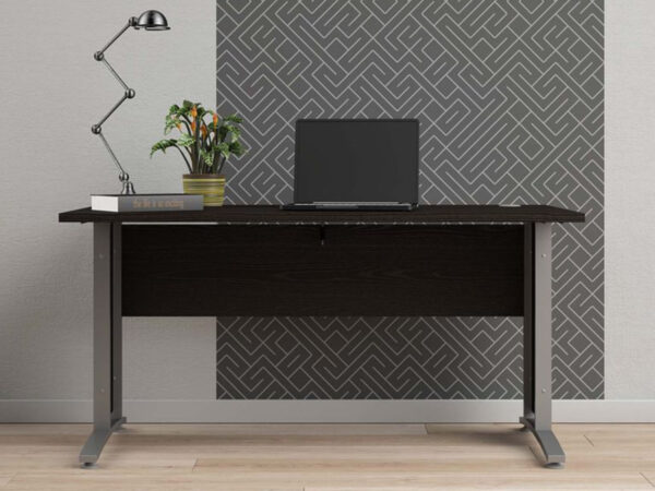 Bureau PRIMOZ 150 cm frêne noir