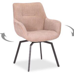 Chaise pivotante MODIL beige