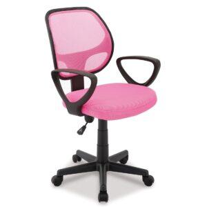 Chaise de bureau BURITOS rose