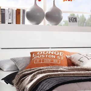 Tête de lit SCARLETT 160x200 cm blanc sans led