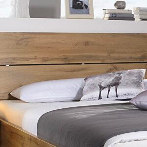 Tête de lit SCARLETT 140x200 cm chêne wotan sans led