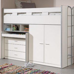Lit combiné BONNY VI 90x200 cm blanc