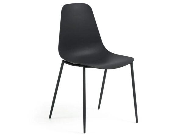 Chaise WATIZ noir