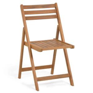 Chaise de jardin LIANA acacia naturel