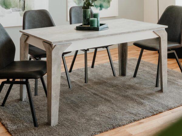 Table repas STEIN 140 cm béton