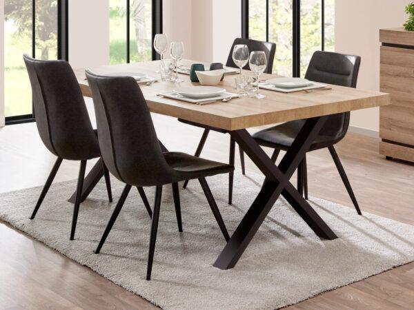 Table repas MARNOIX 230 cm chêne français