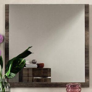 Miroir MEDOU 100 cm chêne vintage