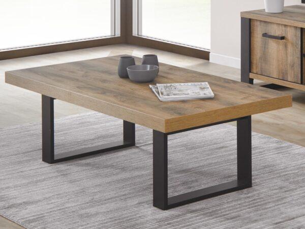Table basse ONNIX 130 cm bois tropix