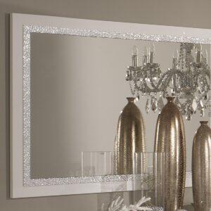 Miroir REBECCA 140 cm blanc laque