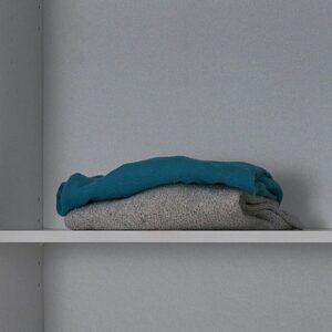 Etagère ROLAND blanc 54 cm (lot de 2)