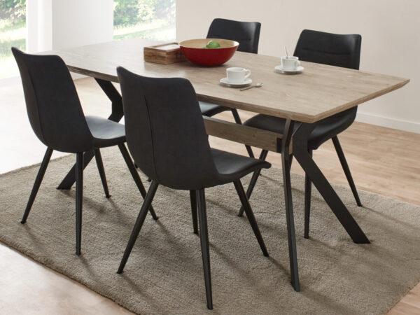 Table repas NUNO 100x200 cm chêne