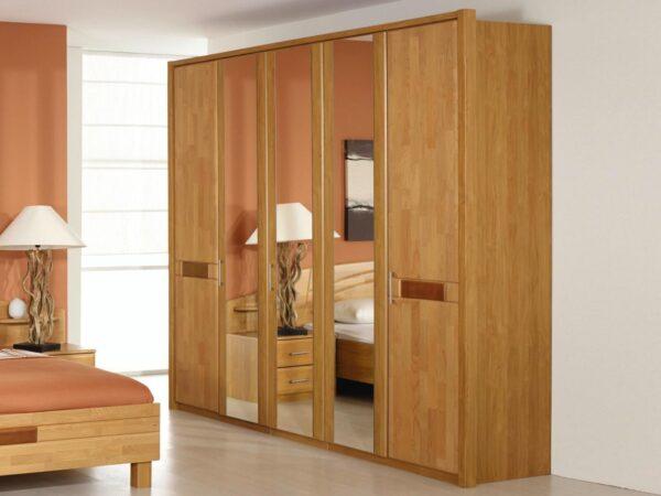 Armoire SARRBRUCK 5 portes aulne massif